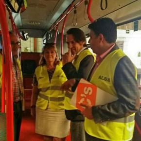 C's Almería aboga por reestructurar todas las líneas de autobuses ante el caos de movilidad
