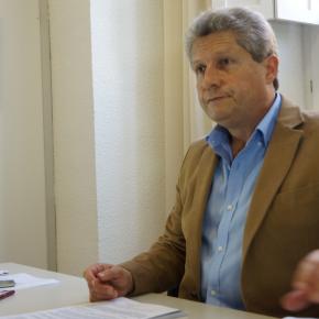 """Roberto Baca: """"Las contradicciones con la situación de los Bomberos del Poniente son continuas y las soluciones, escasas"""""""