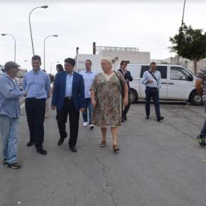 C's Almería exige un plan de actuación en Los Almendros altos que incluya, de urgencia, el asfaltado de sus calles