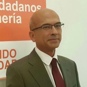 Jesús Vicente, nuevo coordinador de la agrupación de C's Almería Ciudad, se compromete a trabajar en torno a la unión, el diálgo y la sensatez