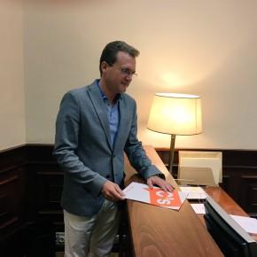 """Diego Clemente: """"C's no va a dejar morir el AVE hacia Almería y ya estamos exigiendo respuestas en el Congreso"""""""