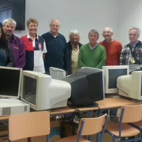 C's Zurgena trabaja para ampliar y mejorar el equipamiento informático de los centros educativos y hogares del municipio