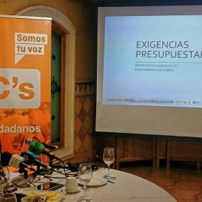 C's Almería apuesta por mejorar la imagen de los barrios, generar empleo y desarrollar la ciudad con más de 40 medidas cuyo impacto supera el 80% de las propuestas