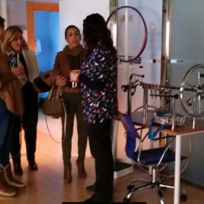 Marta Bosquet visita el  CAIT de Roquetas para conocer la inyección de 14 millones de euros que Cs Andalucía exigió para mejorar la atención infantil temprana