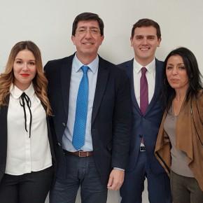 """Marta Bosquet: """"Cs Almería se consolida como tercera fuerza en la provincia fruto del trabajo y el esfuerzo diario"""""""