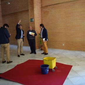 """Miguel Cazorla: """"Es preocupante el deterioro de los espacios escénicos de Almería y la situación precaria de los empleados municipales"""""""