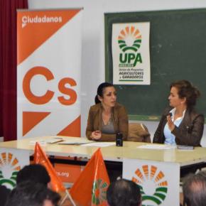 """Marta Bosquet: """"En Ciudadanos hemos tenido claro desde un principio que teníamos que defender la agricultura de nuestra tierra en el Parlamento"""""""