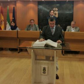 Cayetano Andreu toma posesión como concejal de Cs en el Ayuntamiento de El Ejido