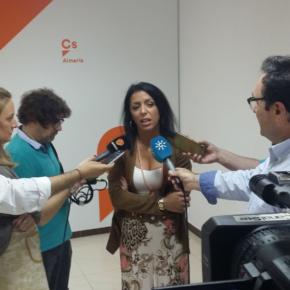 """Marta Bosquet: """"Vamos a solicitar un estudio de viabilidad del cercanías del Bajo Andarax que esté listo en ocho meses"""""""