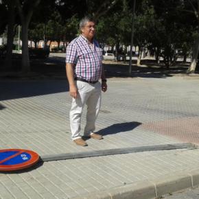 Cs El Ejido reclama más mantenimiento en el parque Francisco Navarrete