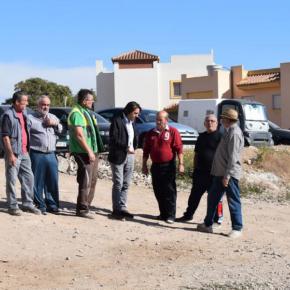 Piedras Redondas consigue la realización del demandado parking en superficie tras el impulso de Cs Almería para acometer las obras