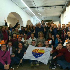 Afiliados de Ciudadanos (Cs) Almería participan este 21D como apoderados en las elecciones catalanas