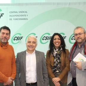 Ciudadanos se reúne con CSIF para analizar la situación de la educación pública en la provincia de Almería