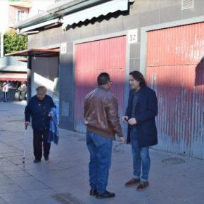 Cs Almería demanda actuaciones de mantenimiento y mejora en el Mercado de la Plaza Pavía para fomentar su dinamización