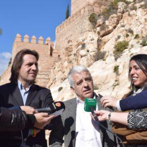 Ciudadanos denuncia el abandono de la Alcazaba e insta a la Junta de Andalucía a que ejecute íntegramente el presupuesto comprometido