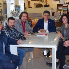 Comerciantes y Empresarios de El Alquián trasladan a Ciudadanos Almería las demandas y necesidades del sector en el barrio