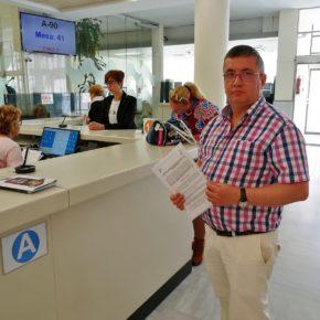 Cs El Ejido registra ya en el Ayuntamiento la propuesta para que se eliminen las barreras arquitectónicas del municipio
