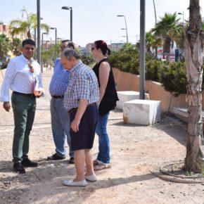 """Ciudadanos Almería denuncia el """"completo abandono"""" del Bulevar Rambla Iniesta"""