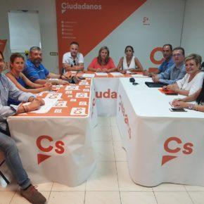 Cs Almería perfila su estrategia para conseguir los mejores resultados en las próximas citas electorales