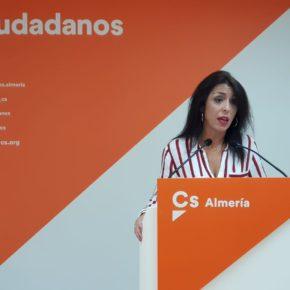 """Marta Bosquet: """"Cs está preparado para liderar el cambio político que necesita Almería y que el bipartidismo ha impedido estos 37 años"""""""