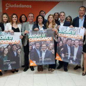 Cs Almería comienza la campaña electoral convencido de que liderará el cambio que necesita Andalucía el 2 de diciembre