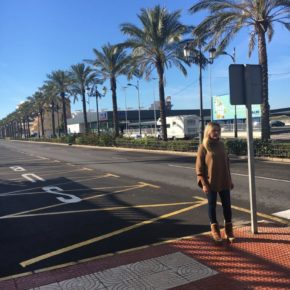 Cs Roquetas de Mar reclama la colocación de resaltos en la Avenida Sabinar