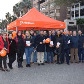Ciudadanos Almería inicia una campaña informativa para explicar a los almerienses las consecuciones de su acción política municipal