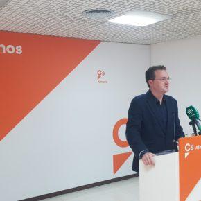 """Ciudadanos considera que los Presupuestos Generales vuelven a ser """"inverosímiles e imaginarios"""" para Almería"""