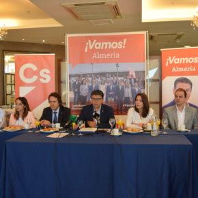 """Ciudadanos Almería presenta un programa electoral """"de futuro, progreso y transformador"""""""