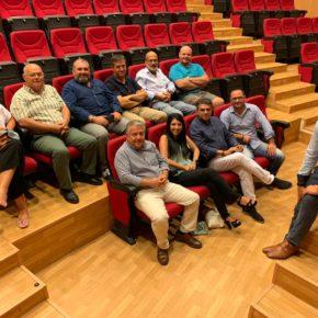 Burgos recoge propuestas del Almanzora, Los Vélez, Bajo Andarax y el Nacimiento para incluir en Planes Provinciales de la Diputación