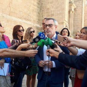 """Villegas (Cs): """"Almería no ha chantajeado a España como los nacionalistas y por eso no ha tenido tantos privilegios"""""""