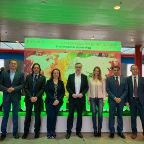 """Villegas (Cs): """"Almería vuelve a demostrar su potencial y su calidad agrícola en Fruit Attraction"""""""