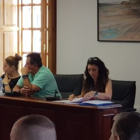 """Serrano (Cs) denuncia que el alcalde de Huércal """"ya incumple"""" el primer acuerdo plenario adoptado este mandato"""