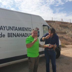 Ciudadanos respalda una iniciativa pionera para convertir Benahadux en un 'oasis' de chumberas libres de la cochinilla del carmín