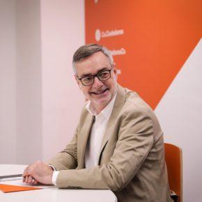 José Manuel Villegas (Cs), en la Comisión de Reglamento del Congreso de los Diputados