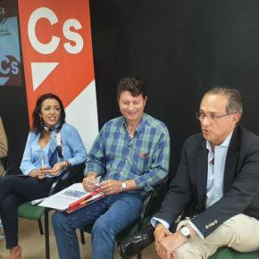 """Vicente García (Cs): """"La provincia no puede tener más del 70% de los puestos de la Guardia Civil sin abrir 24 horas"""""""