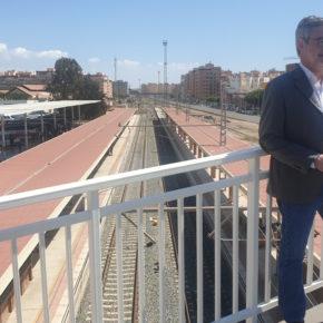 """Villegas: """"Almería no necesita fórmulas para ir en tren a Sevilla, sino que el intercambiador de ancho de vía a Granada esté listo"""""""