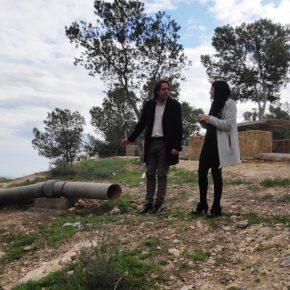 Ciudadanos exige la retirada de tuberías de amianto cemento abandonadas en el merendero de Huércal de Almería