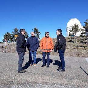 Ciudadanos solicita a Diputación el arreglo de la carretera de acceso al Calar Alto que une la A-1178 con la AL-4404