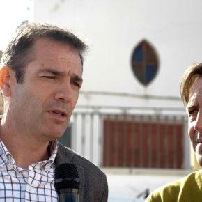 """Burgos conoce las actuaciones que se acometerán en Vélez-Blanco con los 800.000 euros """"guardados en un cajón"""" la pasada legislatura"""