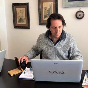 """Rafael Burgos: """"La Junta presta apoyo directo a los municipios almerienses con menos recursos para afrontar la crisis del coronavirus"""""""