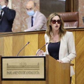 """Mercedes López """"La autoridad de los docentes almerienses estará blindada gracias a la labor de Ciudadanos en la Junta"""""""