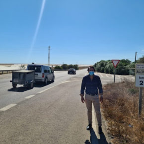Cs pide a Diputación aumentar la seguridad de la carretera AL-3114 entre Retamar y Cuevas de los Medina