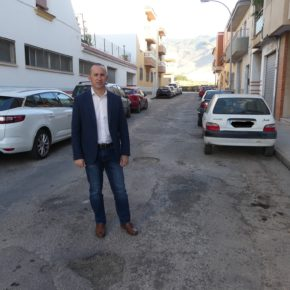 """Cs El Ejido insta al Ayuntamiento a reparar la calle Dulcinea de Santa María del Águila, """"que presenta un estado deplorable"""""""