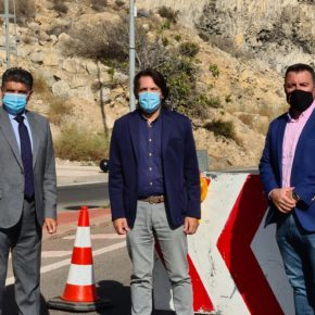 Ciudadanos exige una reforma integral de El Cañarete para garantizar la seguridad en esta vía y evitar los colapsos de la A-7