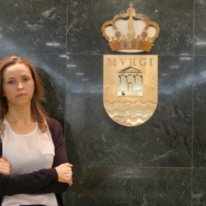 """Mª Herminia Padial """"El alcalde ha reaccionado al problema de los 'okupas' cuando Ciudadanos le ha presionado"""""""