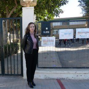 """Padial: """"La labor de Cs en la Consejería de Educación permite que el CEIP San Agustín reciba más de 156.000 euros para sus ansiadas reformas"""""""